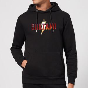 Shazam Logo Hoodie - Black