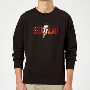 Shazam Logo Sweatshirt - Black