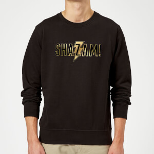 Shazam Gold Logo Sweatshirt - Black