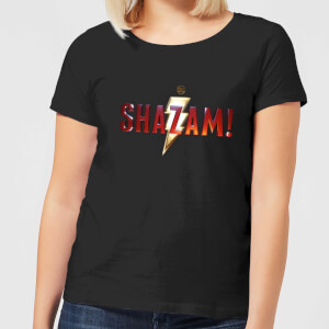 Shazam Logo Women's T-Shirt - Black