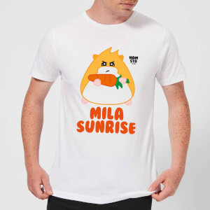 Hamsta Mila Sunrise Men's T-Shirt - White