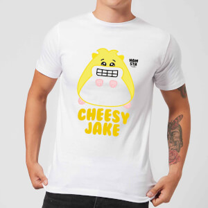 Hamsta Cheesy Jake Men's T-Shirt - White