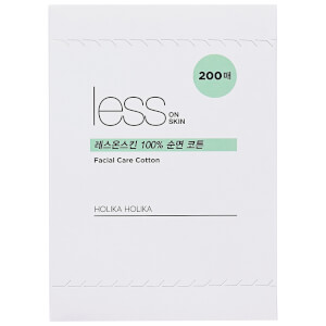 Holika Holika Less On Skin Facial Care Cotton 200 Piece (Free Gift)