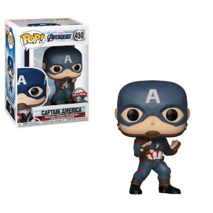 Marvel Avengers: Endgame Captain America EXC Pop! Vinyl Figure