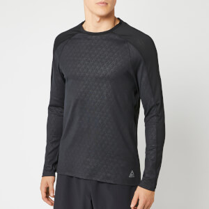 Reebok Men's OST Smartvent Long Sleeve Top - Black