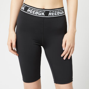 Reebok Women's WOR MYT Bike Shorts - Black