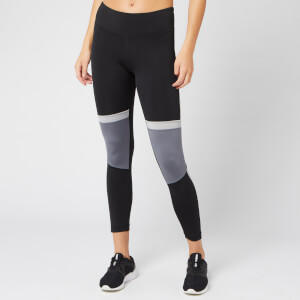 Reebok Women's WOR MYT Paneled Poly Tights - Black