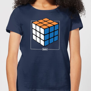 Rubik's Complete Women's T-Shirt - Navy