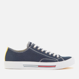 Tommy Jeans Men's Classic Canvas Trainers - Ink