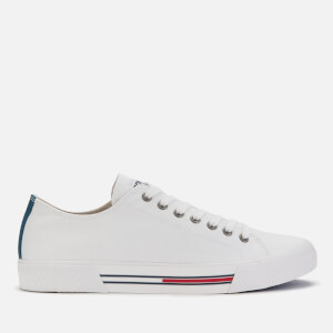 Tommy Jeans Men's Classic Canvas Trainers - White