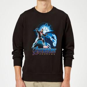 Avengers: Endgame Iron Man Suit Sweatshirt - Black