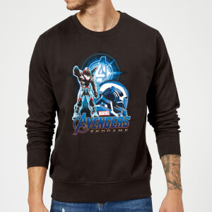 Avengers: Endgame War Machine Suit Sweatshirt - Black