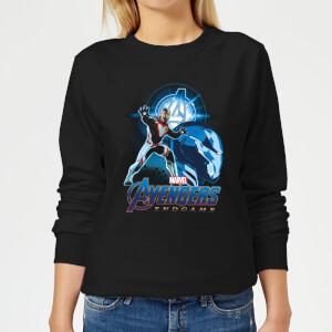 Avengers: Endgame Iron Man Suit Women's Sweatshirt - Black