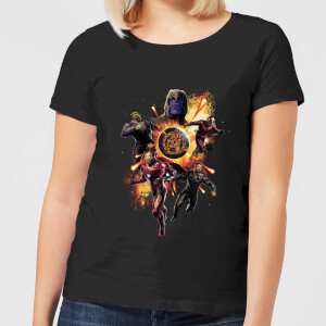 Avengers: Endgame Explosion Team Women's T-Shirt - Black
