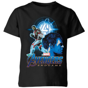 T-Shirt Avengers: Endgame Hulk Suit - Nero - Bambini