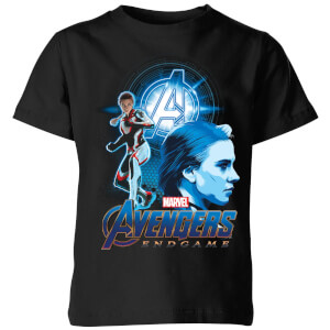 Avengers: Endgame Widow Suit Kids' T-Shirt - Black