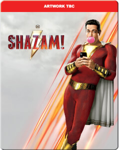 Shazam! 4K Ultra HD (Includes 2D Blu-ray) – Limited Edition Steelbook