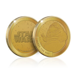 Collectible Star Wars Commemorative Coin: Jabba the Hutt - Zavvi Exclusive (Limited to 1000)