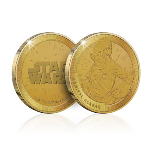 Collectible Star Wars Commemorative Coin: Admiral Ackbar - Zavvi Exclusive (Limited to 1000)