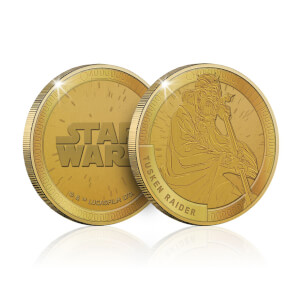 Collectable Star Wars Commemorative Coin: Tusken Raider - Zavvi Exclusive (Limited to 1000)