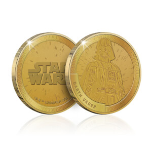 Collectable Star Wars Commemorative Coin: Darth Vader - Zavvi Exclusive (Limited to 1000)