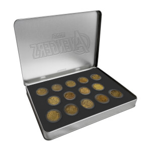 Marvel Commemorative Coin Collector's Case (Set of 14) - Zavvi Exclusive (Limited to 500)