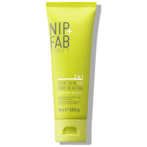 NIP+FAB Teen Skin Pore Blaster Mask and Scrub 75ml