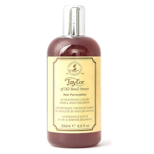 Taylor of Old Bond Street Sandalwood Hair & Body Shampoo 200ml