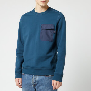 PS Paul Smith Men's Pocket Crew Sweatshirt - Navy