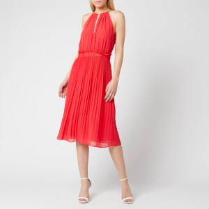 MICHAEL MICHAEL KORS Women's Chain Midi Dress - Sea Coral