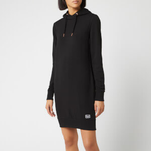 Superdry Women's Supersoft Sweat Dress - Black