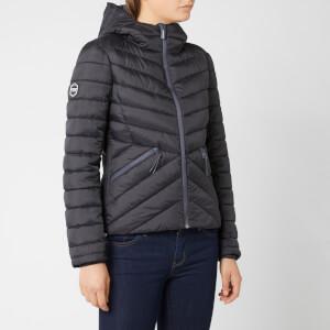 Superdry Women's Helio Fuji Hooded Jacket - Black