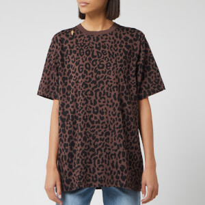 Golden Goose Deluxe Brand Women's Rabenda T-Shirt - All Over Leopard