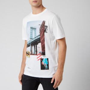 BOSS Men's Toll 3 Brooklyn Bridge T-Shirt - White