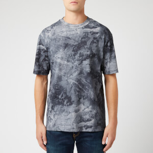 BOSS Men's Taive Allover Marble T-Shirt - Concrete Camo