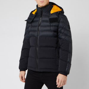BOSS Men's Olooh Removeable Hood Jacket - Black
