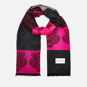 KENZO Women's Multi Icon Scarf - Pink