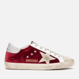 Golden Goose Deluxe Brand Women's Superstar Leather Trainers - Copper Velvet/Ice Star
