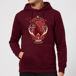 Hellboy Anung Un Rama Hoodie - Burgundy