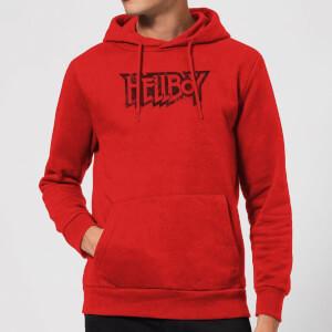 Hellboy Logo Hoodie - Red