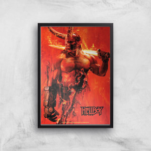 Hellboy Son Of The Fallen One Art Print