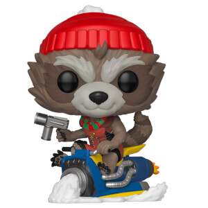 Marvel Holiday - Rocket Raccoon Natalizio Figura Pop! Vinyl