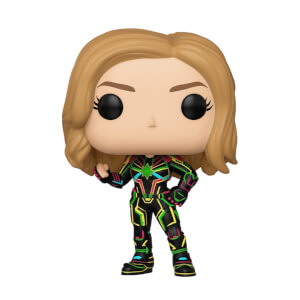 Figurine Pop! Captain Marvel Tenue Neon - Marvel