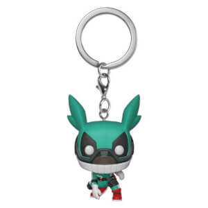 My Hero Academia Deku with Helment Pocket Pop! Keychain