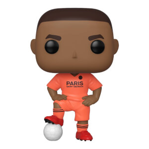 Figurine Pop! Kylian Mbappé Maillot Extérieur - Football - Paris Saint Germain