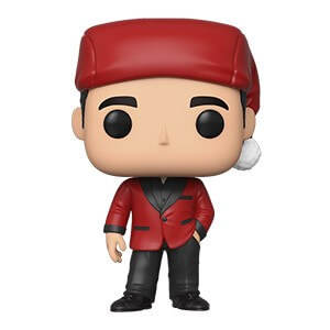 The Office - Micheal Scott Santa Pop! Vinyl Figur