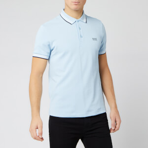 BOSS Men's Paddy Polo Shirt - Sky Blue