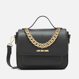 Love Moschino Women's Chain Cross Body - Black
