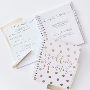 Ginger Ray Polka Dot Wedding Planner