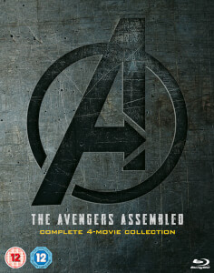 Avengers 1-4 complete Blu-ray Boxset